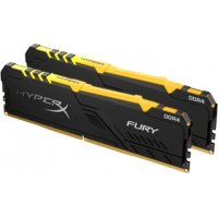 Оперативная память Kingston HyperX Fury RGB 16GB Kit 2x8Gb HX426C16FB3AK2-16